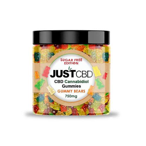 Just CBD Sugar Free CBD Gummies 750mg