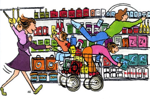 Holiday Season Food Shopping