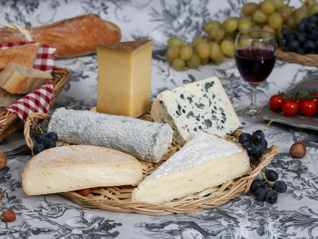 french cheeses image