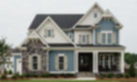 blue and white house.JPG