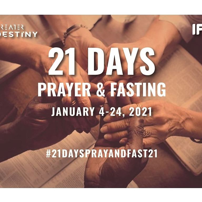 21 Days Prayer and Fasting