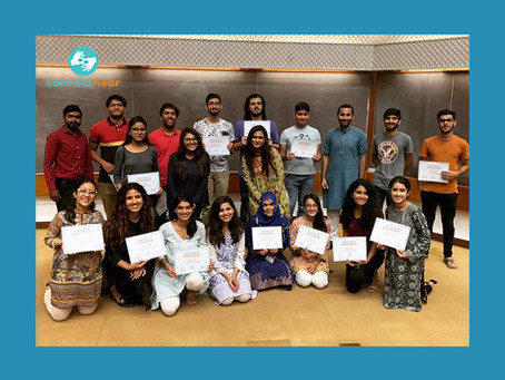 Taking Pakistani Sign Language training to organisations