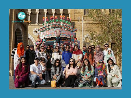 Exploring Karachi on the cultural bus