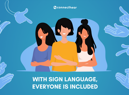 International Week of the Deaf: an important recognition for the Deaf community