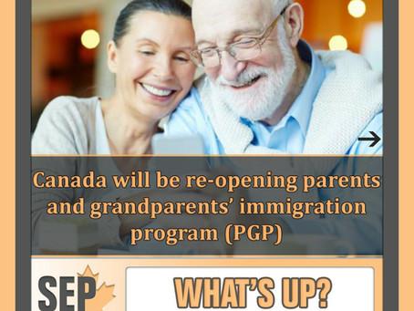 Parents and Grandparents Program 2020 Closes Next Week
