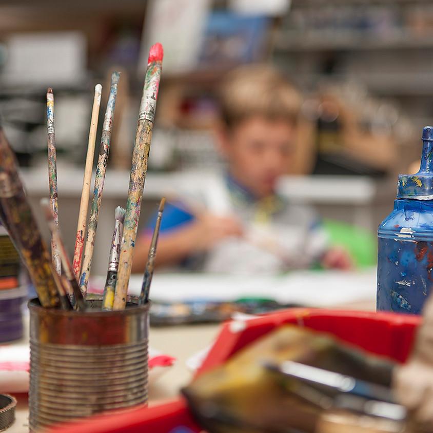 Cours Arts Plastiques Enfants - 2ème trimestre 2018