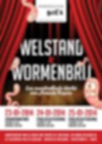 Welstand & Wormenbrij | Toneelcub Doe'k
