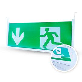 Plexiglas-kit voor noodverlichting