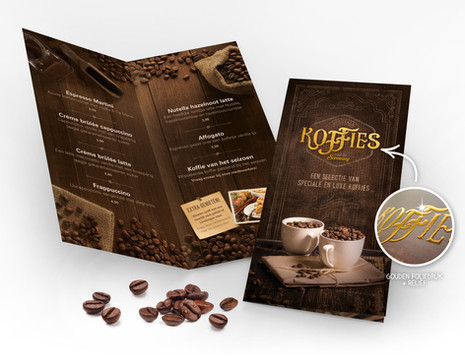 Luxe Koffiekaart