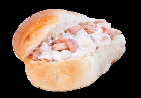Broodje Hollandse Garnalensalade