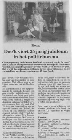 Toneelvereniging Doe'k | Brabants Dagblad