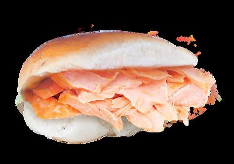 Broodje Gegaarde Zalm