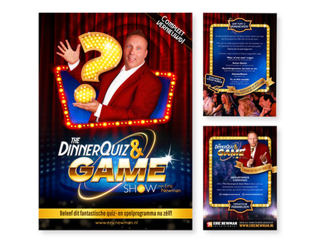 Promotie Dinnerquiz & Game Show