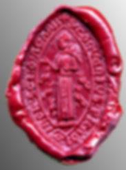 sceau couvent franciscain Saint Macaire,