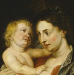 Adriaenssen_et_atelier_de_Rubens,_Madonne_et_nature_morte_-_détail_1