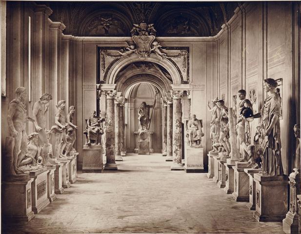 James Anderson, galerie des philosphes, au Vatican