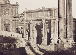 Eugène Constant, l'arc de Septime Sévère