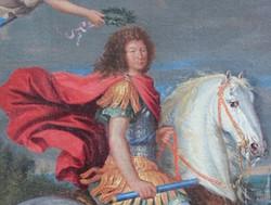 Portrait_équestre_Louis_XIV,_vers_1700_-_détail_2