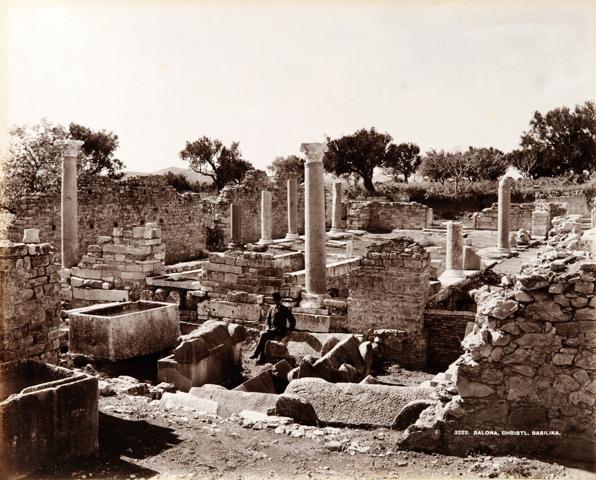 Ignacy Krieger, ruines de Saloma