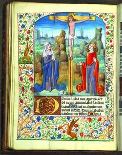 livre-d-heures-enlumine-crucifixion