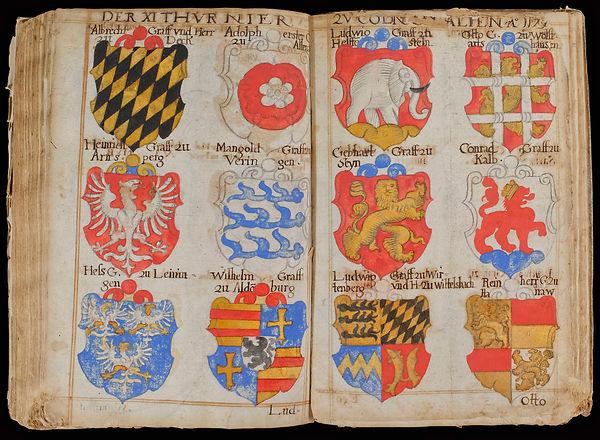 Armorial allemand XVIIIe siècle Deutsche Wappenbuch