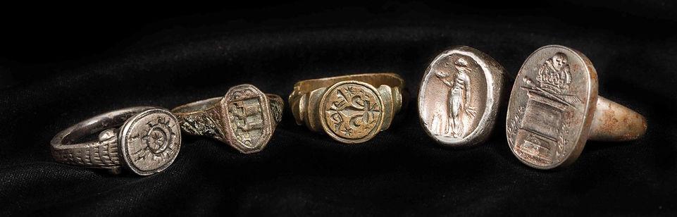 bagues medievales expert vente encheres sceaux