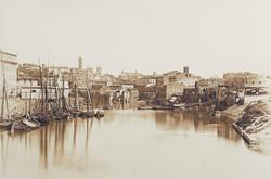 James Anderson, barques sur le Tibre