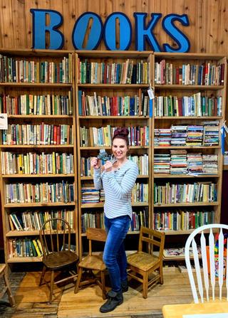 Falling Rock Cafe and Bookstore, Munising MI