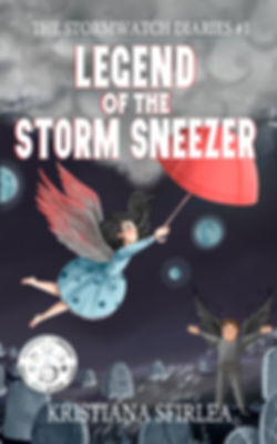 Legend of the Storm Sneezer book cover