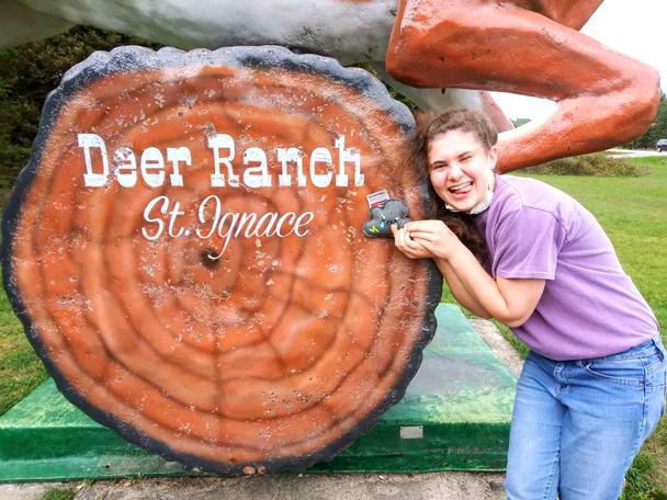 Deer Ranch, St. Ignace MI