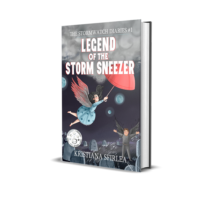 Fantasy book Legend of the Storm Sneezer