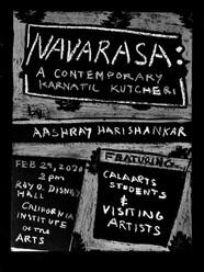 Navarasa Recital Flyer