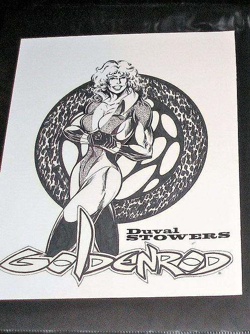 Original Art by Duval Stowers Goldenrod Reg. Trademark