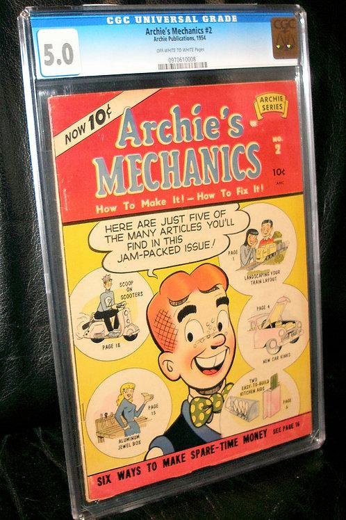 Archie's Mechanics #2 CGC  5.0