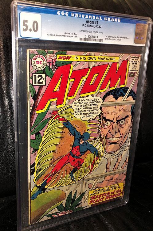 Atom #1 CGC Graded 5.0