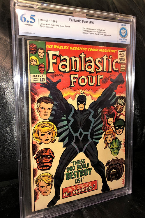 Fantastic Four #46 CBCS 6.5