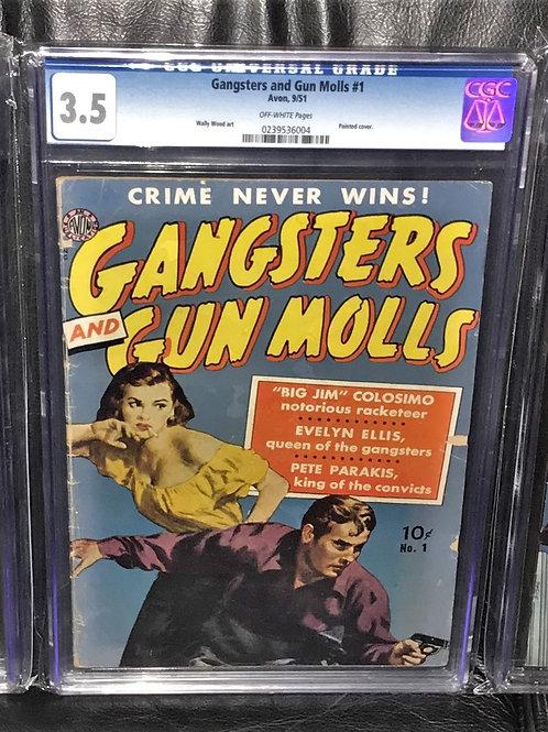 Avon's Gangsters and Gun Molls #1 1951