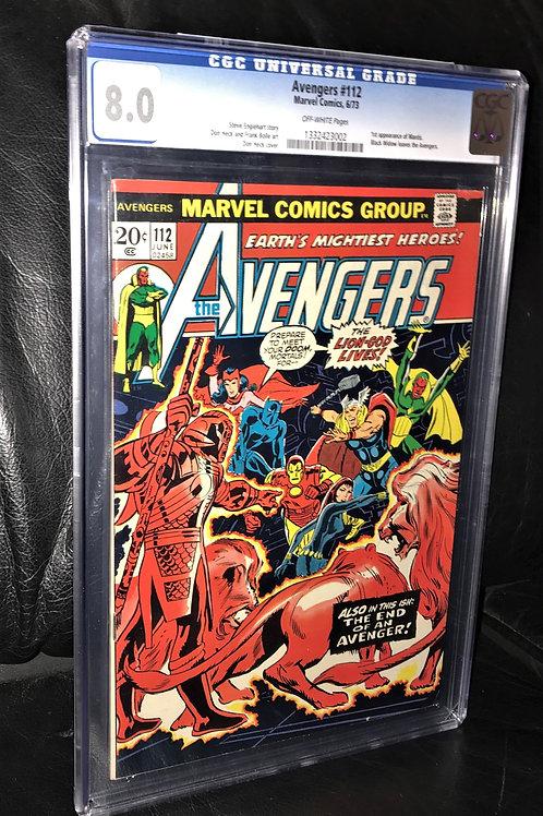 Marvel's Avengers #112 1st Mantis