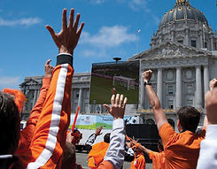 Free public viewing good memories in San Francisco