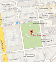 public transportation to San Francisco Civic Center Plaza