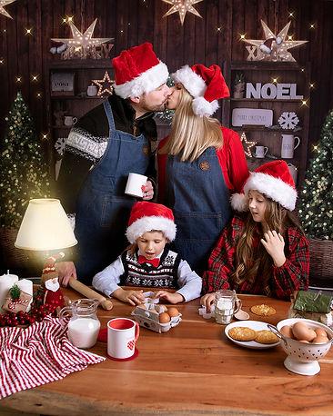 Christmas Family Mini Session in Weston-Super-Mare