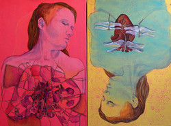 3&4. Diptych, In the heart of the city and Heart of the city