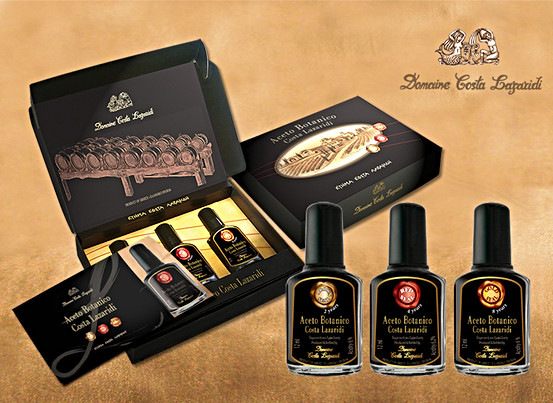 Label, brochure and packaging design