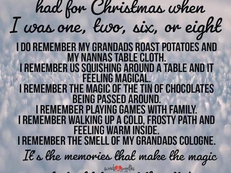 Memories of Christmas past !