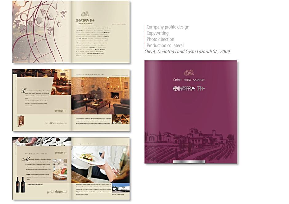 Oenotria Land, company profile