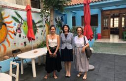 Mέλος του Δ.Σ. της  Home-Start Worldwide  επισκέπτεται την Ελλάδα