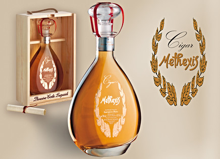 Label design for Methexis Cigar, Domaine Costa lazaridi SA