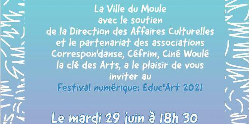 Educ'Art 2021 - Festival numérique
