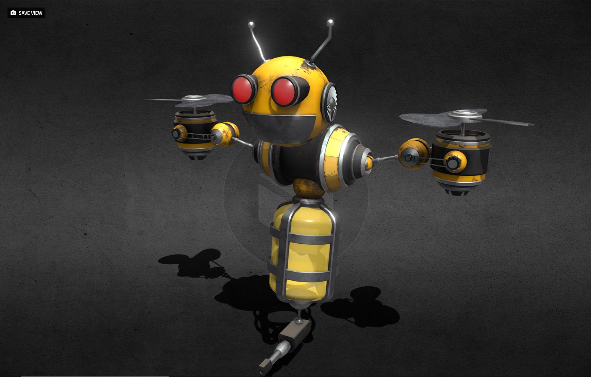 Mech-Bee