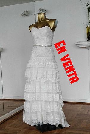 Vestido de novia usado Pronovias
